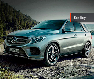 Mercedes Clase GLE 350d con Mercedes-Benz Renting
