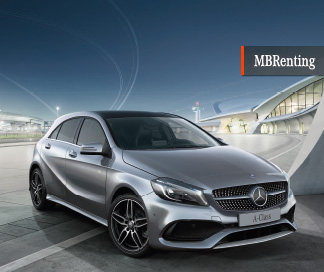 Mercedes Clase Clase A 180d con MBRenting